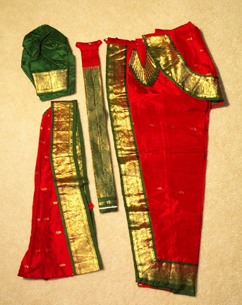 Custom Dance Dress - Dharmavaram Silk