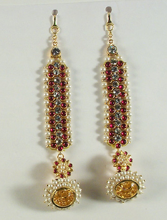 Original Temple Ear Set - Mattal with Ear Rings