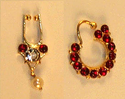 Nose Ring and Nathu Set - Original Temple